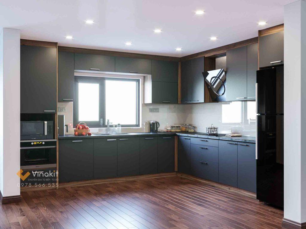 Ảnh: sản phẩm thiết kế nội thất bếp của Kts. Lê Minh