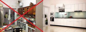 Tủ bếp giá rẻ